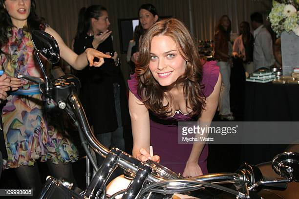 Emily Deschanel during Film Independent's 2006 Independent Spirit Awards On 3 Productions in Santa Monica California United States