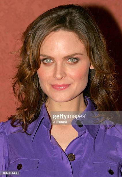 Emily Deschanel during The AIDS Healthcare Foundation Presents 'Hot in Hollywood' at The Henry Fonda/Music Box Theatre in Hollywood California United...