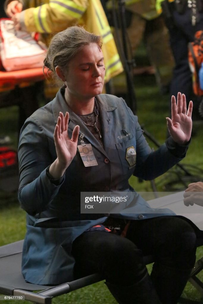 Emily Deschanel in 'The Final Chapter: The End in the End' series finale episode of BONES airing Tuesday, March 28 (9:01-10:00 PM ET/PT) on Fox.