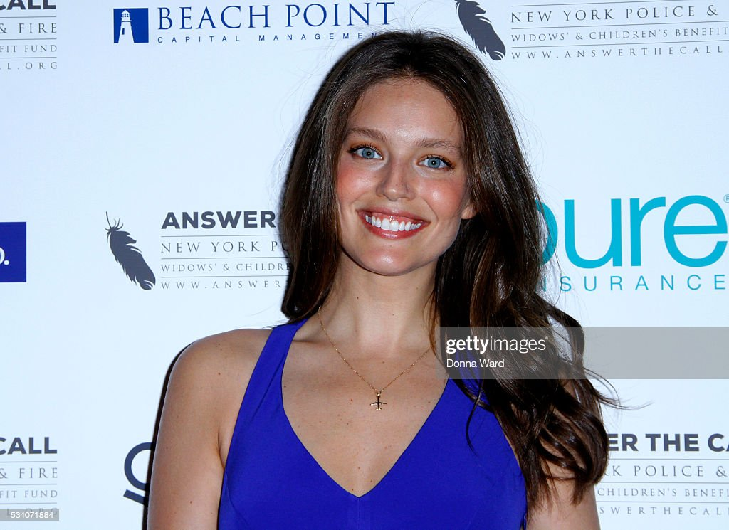 <a gi-track='captionPersonalityLinkClicked' href=/galleries/search?phrase=Emily+DiDonato&family=editorial&specificpeople=6155210 ng-click='$event.stopPropagation()'>Emily DiDonato</a> attends The New York Police & Fire Widows' & Children's Benefit Fund 4th Annual Kick Off To Summer Benefit at The Bowery Hotel on May 24, 2016 in New York City.