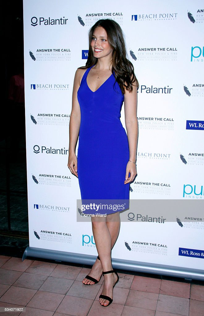 Emily DiDonato attends The New York Police Fire Widows' Children's Benefit Fund 4th Annual Kick Off To Summer Benefit at The Bowery Hotel on May 24...