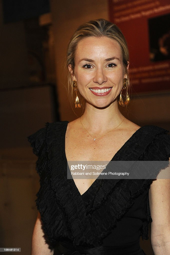 Emily Ford attends the cocktail party prior to the 2012 Apollo Circle Benefit at the Metropolitan Museum of Art on November 15, 2012 in New York City.