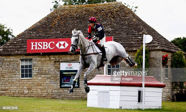 Emily Gilruth of Great Britain rides Ashdale Cruise Master during the Cross Country at The Land Rover Burghley Horse Trials in the HSBC FEI Classics...