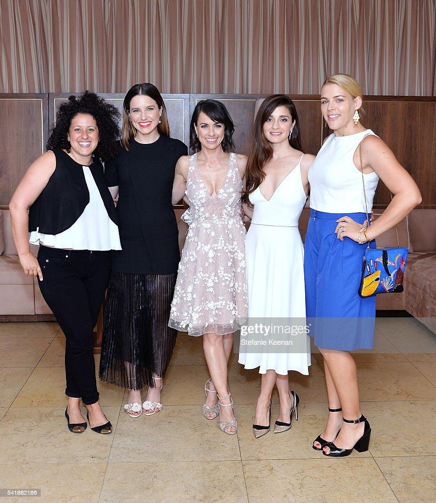 Emily Greener Sophia Bush Constance Zimmer Shiri Appleby and Busy Philipps attend Glamour and Facebook Host Power Players In Hollywood Politics Lunch...