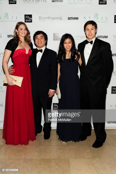 Emily Griset Drew Chin Allie Chin and Lynn Kau attend NEW YORK JUNIOR LEAGUE'S 2010 Winter Ball at The Plaza Hotel on February 25th 2010 in New York...