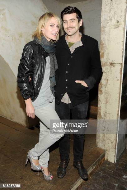 Emily Haines and Philip Kressin attend SHOPBOPCOM Party to Celebrate the Launch of BARLOW at Los Feliz on February 24 2010 in New York City