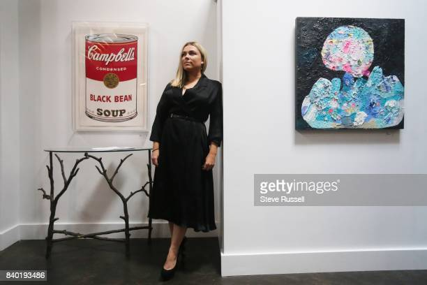 TORONTO ON AUGUST 8 Emily Harding and a Warhol who operates an art gallery out of her loft She and partner Jeff Dinan also host events there that...