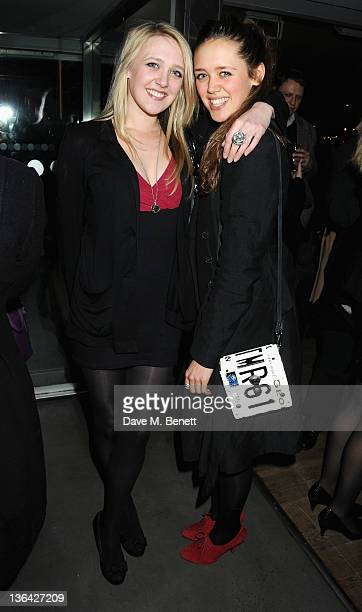 Emily Head and Daisy Head attend the After Party for The Iron Lady at Thames Riverside on January 4 2012 in London England