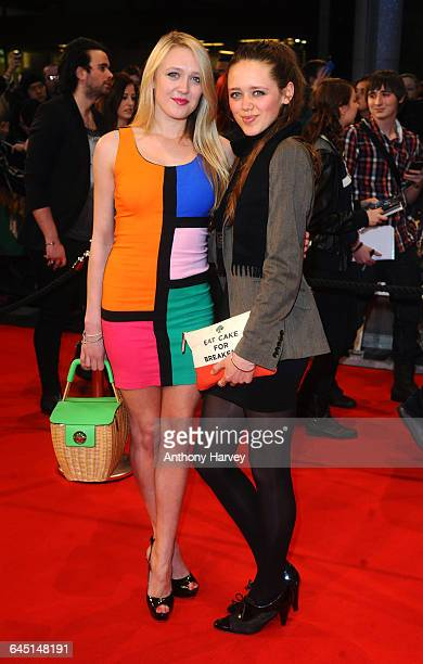 Emily Head and Daisy Head attend the Marvel Avengers Assemble European Premiere on April 19 2012 at the Vue Cinema Westfield Shepards Bush in London