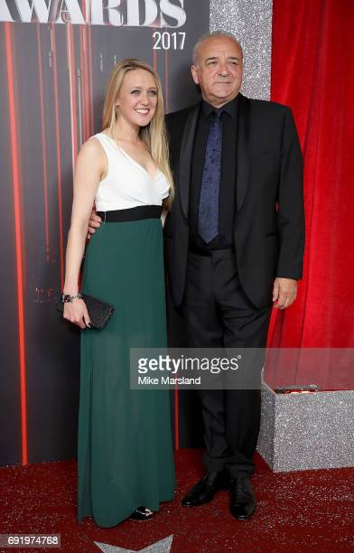 Emily Head and John Bowe attend The British Soap Awards at The Lowry Theatre on June 3 2017 in Manchester England The British Soap Awards will be...