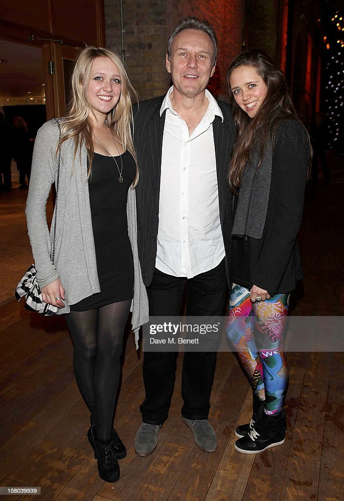 Emily Head, Anthony Head and Daisy Head attend an after party celebrating the 24 Hour Musicals Gala Performance at Vinopolis on December 9, 2012 in London, England.