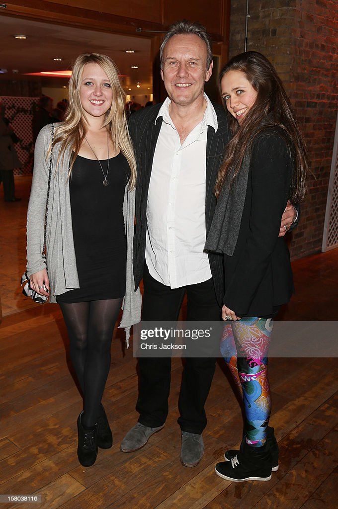 Emily Head, Anthony Head and Daisy Head attend the post-show party, The 25th Hour, following The Old Vic's 24 Hour Musicals Celebrity Gala 2012 during which guests drank Jack Daniels Single Barrel, Curtain Raiser cocktails in The Great Halls, Vinopolis, Borough on December 9, 2012 in London, England.