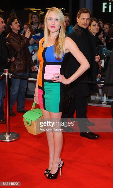 Emily Head attends the Marvel Avengers Assemble European Premiere on April 19 2012 at the Vue Cinema Westfield Shepards Bush in London