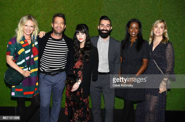 Emily Henderson Nate Berkus Christina Marinez Robert Martinez Colette Shelton and Amber Lewis attend the Design Forward with Delta Faucet at Cooper...