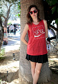 Emily Kokal attends The Retreat At The Sparrows Lodge on April 12 2015 in Palm Springs California