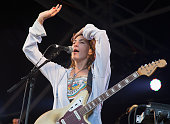 Emily Kokal of Warpaint performs as part of Barclaycard Presents British Summer Time Hyde Park Day 1 at Hyde Park on July 1 2016 in London England