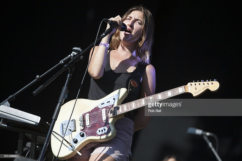 <a gi-track='captionPersonalityLinkClicked' href=/galleries/search?phrase=Emily+Kokal&family=editorial&specificpeople=7132995 ng-click='$event.stopPropagation()'>Emily Kokal</a> of Warpaint performs at Bestival 2012 at Robin Hill Country Park on September 7, 2012 in Newport, Isle of Wight.