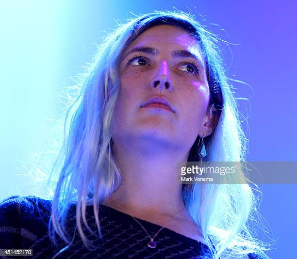 Emily Kokal of Warpaint performs at Day 3 of Down The Rabbit Hole Festival at De Groene Heuvels on June 29 2014 in Beuningen Netherlands