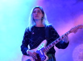 Emily Kokal of Warpaint performs at day three of Down The Rabbit Hole Festival at De Groene Heuvels on June 29 2014 in Beuningen Netherlands