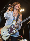 Emily Kokal of Warpaint performs on stage as part of the Barclaycard Presents British Summer Time Hyde Park Day 1 at Hyde Park on July 1 2016 in...