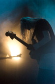 Emily Kokal of Warpaint performs on stage at Crossing Border Festival on November 16 2013 in The Hague Netherlands
