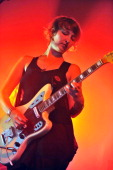Emily Kokal of Warpaint performs on stage at Lowlands Festival on August 21 2011 in Biddinghuizen Netherlands