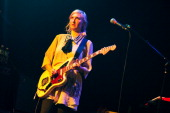 Emily Kokal of Warpaint performs on stage at Music Hall of Williamsburg on October 1 2013 in New York New York
