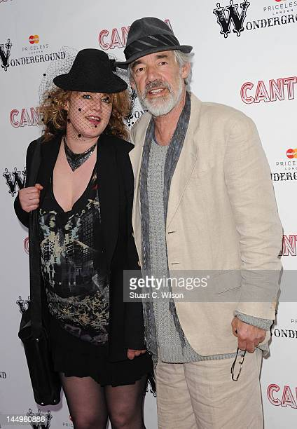 Emily Lloyd and Roger LloydPack attend dance company Cantina's London production which features a mix of acrobatics and dance at Jubilee Gardens on...