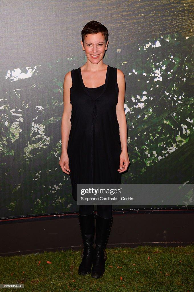 Emily Loizeau attends the 'Il etait une foret' Paris Premiere at Cinema Gaumont Marignan, in Paris.