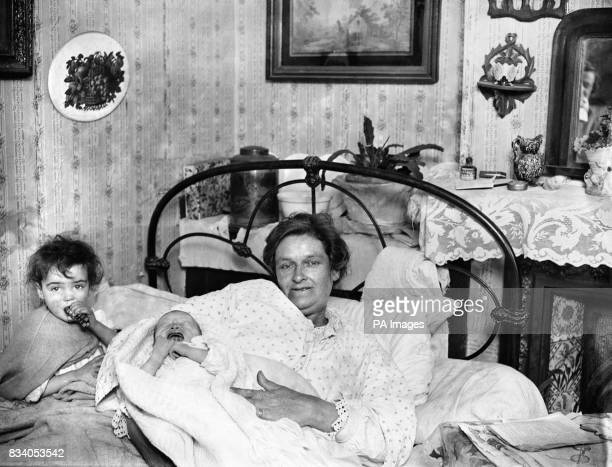Emily Lucas of Tonbridge with her 23rd child