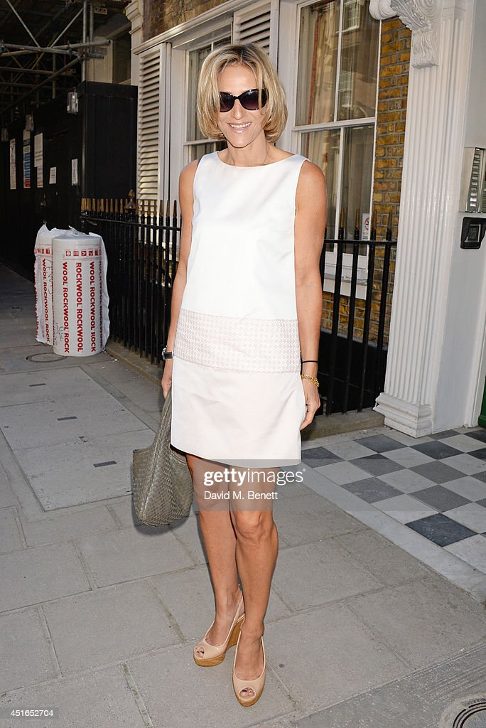 Emily Maitlis attends The Spectator Summer Party at Spectator House on July 3, 2014 in London, England.