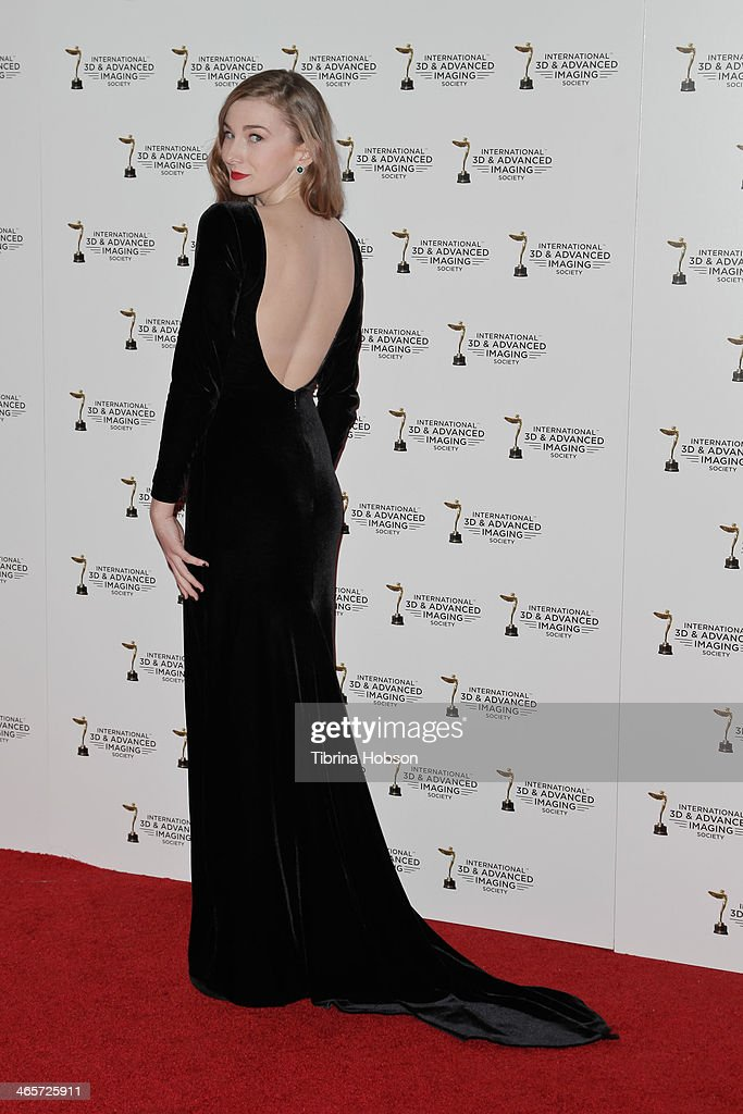 Emily Mest attends the annual International 3D and Advanced Imaging Society's Creative Arts Awards at Warner Bros. Studios on January 28, 2014 in Burbank, California.