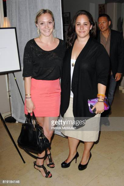 Emily Meyer and Alison Gorsuch attend The First Annual Benefit Hosted By Los Angeles Nomadic Division at the Sunset Tower Hotel on July 15 2010 in...
