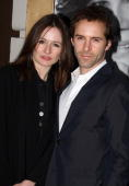 Emily Mortimer and Alessandro Nivola attend the Broadway opening of 'God Of Carnage' at Bernard Jacobs Theatre on March 22 2009 in New York City
