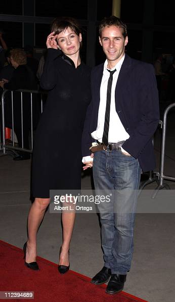 Emily Mortimer and Alessandro Nivola during 'Formula 51' Los Angeles Premiere at Arc Light Theater in Hollywood California United States