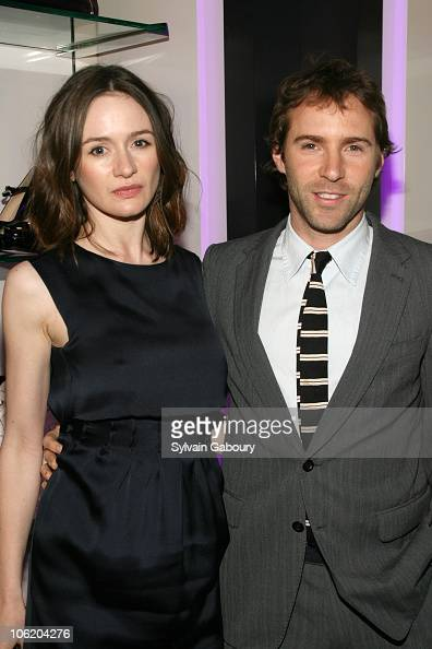 Emily Mortimer and Alessandro Nivola during 'Paris Je T'aime' Yves Saint Laurent New York Premiere After Party Arrivals at YSL Boutique at 3 East...