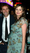 Emily Mortimer and Alessandro Nivola during 'Young Adam' Premiere London at Leicester Square in London Great Britain