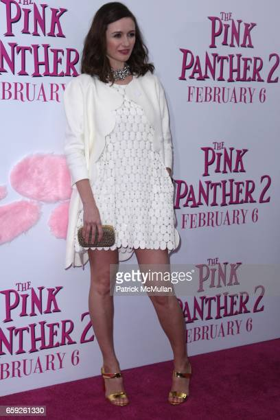 Emily Mortimer attends COLUMBIA PICTURES and MGM Present the World Premiere of THE PINK PANTHER 2 at Ziegfeld Theatre on February 3 2009 in New York...