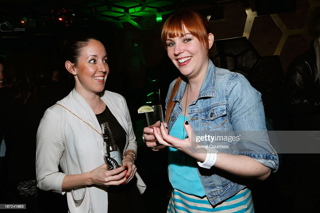 Emily Murphy and Mara Weston attends the Tribeca Film Festival 2013 After Party 'Before Midnight' sponsored by Heineken on April 22, 2013 in New York City.