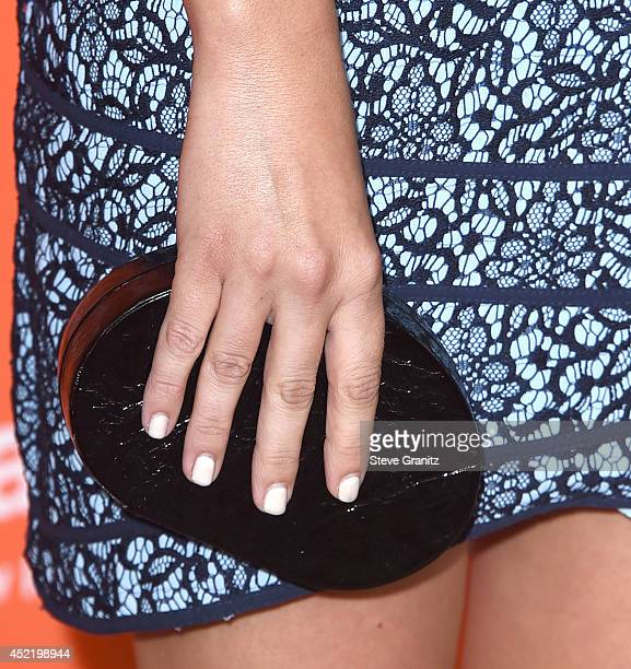 Emily Osment arrives at the 2014 Television Critics Association Summer Press Tour Disney/ABC Television Group at The Beverly Hilton Hotel on July 15...