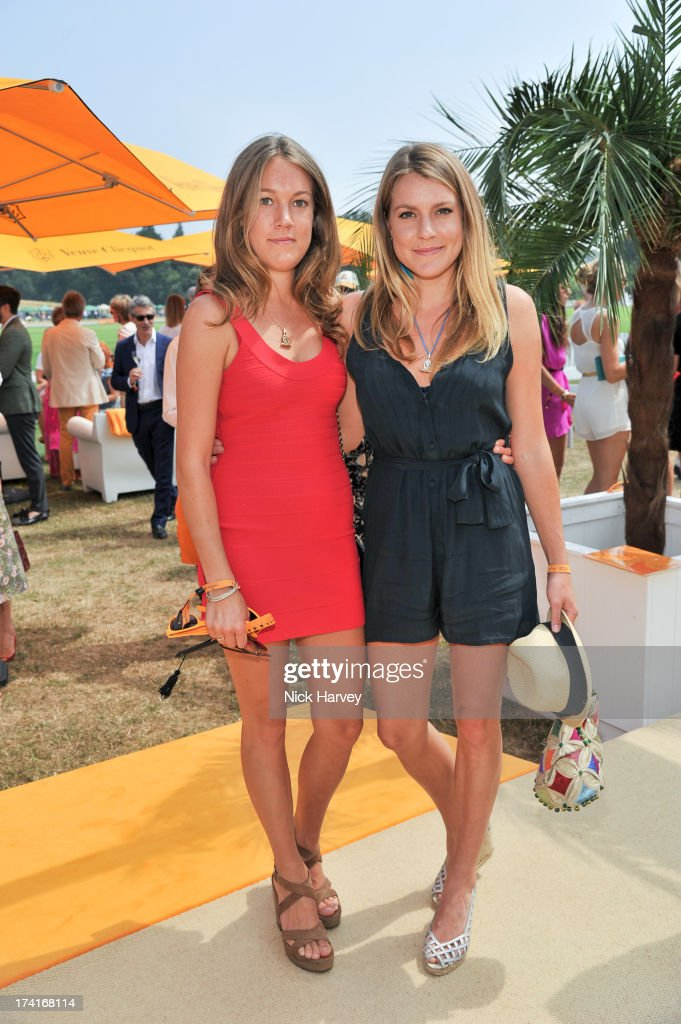 Emily Pearson and Eliza Pearson attend the Veuve Clicquot Gold Cup final at Cowdray Park Polo Club on July 21, 2013 in Midhurst, England.