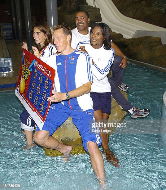 Emily Pidgeon and Danny Crates and Daley Thompson and Denise Lewis