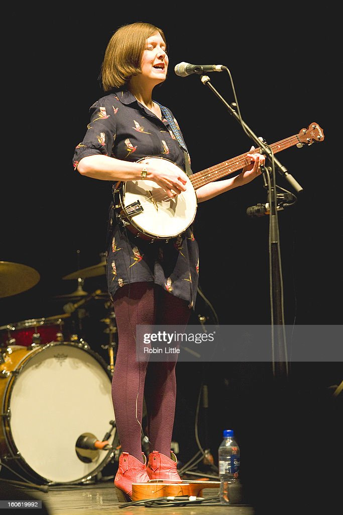 Emily Portman performs on stage at Barbican Centre on February 3, 2013 in London, England.