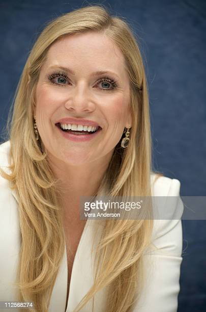 Emily Procter at the 'CSI Miami' press conference at the Four Seasons Hotel on April 22 2009 in Beverly Hills California