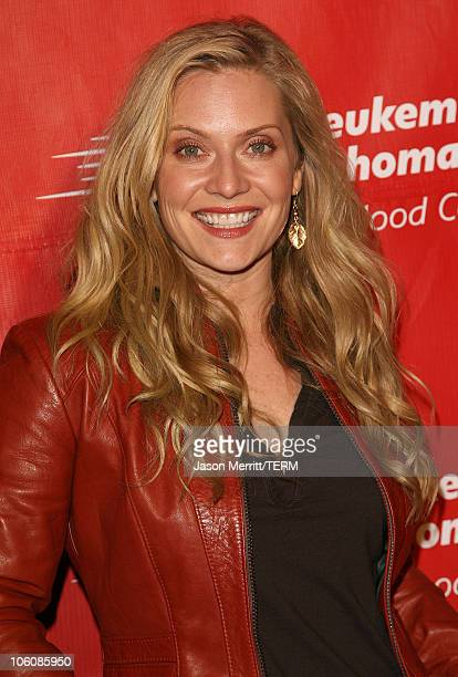 Emily Procter during 2nd Annual Celebrity Rock'N Bowl Arrivals at Lucky Strikes Lanes in Hollywood California United States