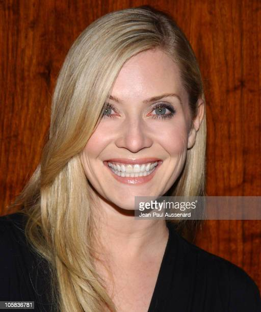 Emily Procter during Gen Art and Acura Present 'The New Garde' Fashion Show Arrivals at Park Plaza in Los Angeles California United States
