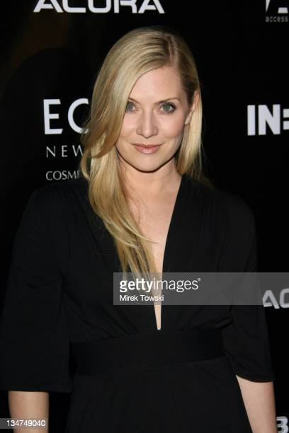 Emily Procter during Gen Art and Acura Present 'The New Garde' Fashion Show Arrivals at Park Plaza Hotel in Los Angeles California United States