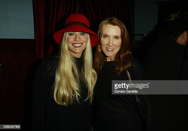 Emily Procter Linda Bruckheimer during Alex Balahoutis Strange Invisible Parfumerie Abbot Kinney at Store In Venice in Venice California United States