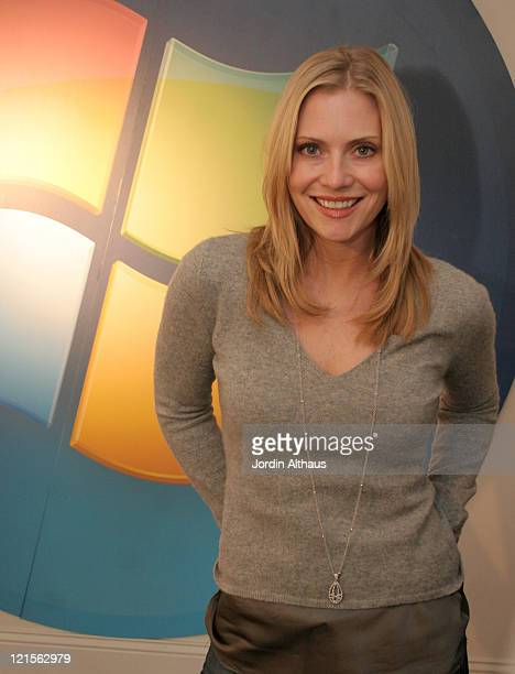 Emily Proctor at Windows Vista Lounge during Windows Vista Lounge Day 2 at Boulevard 3 in Los Angeles California United States