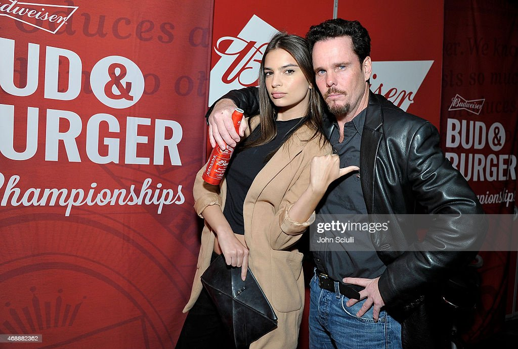 Emily Ratajkowski and Kevin Dillon, stars of the upcoming Entourage movie, joined Budweiser at an event in Los Angeles on April 7, 2015, to launch a coast-to-coast search for the official Bud & Burgers Champion. The Entourage movie premieres June 5.